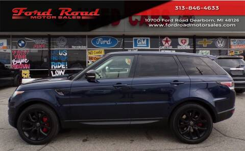 2014 Land Rover Range Rover Sport for sale at Ford Road Motor Sales in Dearborn MI