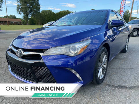 2015 Toyota Camry for sale at Auto Store of NC in Walkertown NC