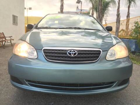 2006 Toyota Corolla for sale at Auto Land in Bloomington CA