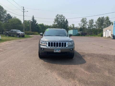 2011 Jeep Grand Cherokee for sale at WB Auto Sales LLC in Barnum MN