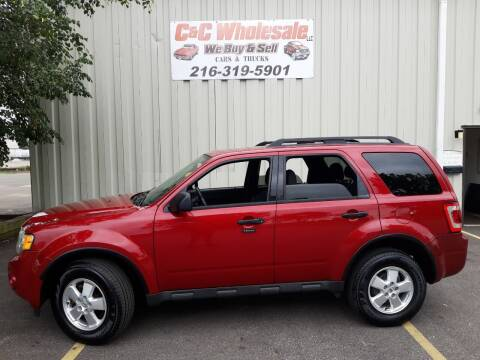 2011 Ford Escape for sale at C & C Wholesale in Cleveland OH