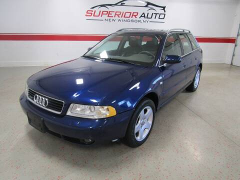 2000 Audi A4 for sale at Superior Auto Sales in New Windsor NY