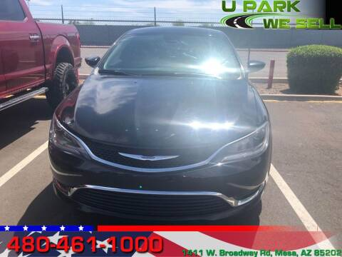 2015 Chrysler 200 for sale at UPARK WE SELL AZ in Mesa AZ