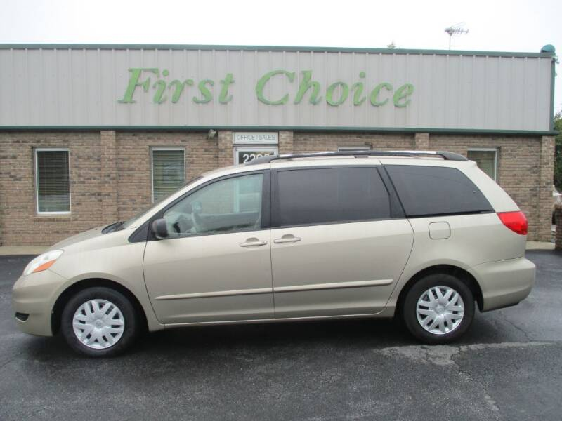 2009 Toyota Sienna for sale at First Choice Auto in Greenville SC