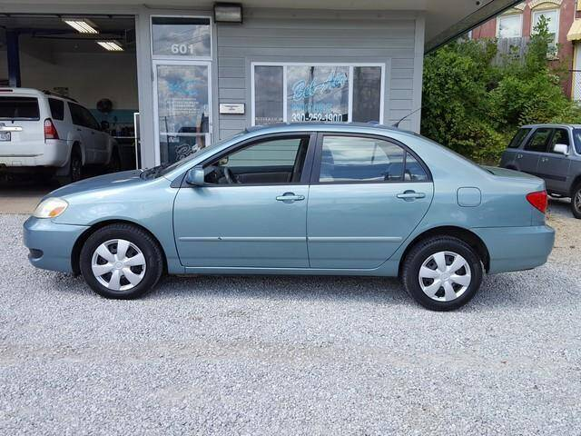 2006 Toyota Corolla for sale at BELAIR MOTORS in Akron OH