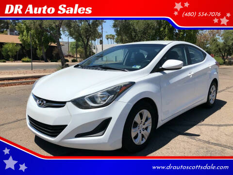 2016 Hyundai Elantra for sale at DR Auto Sales in Scottsdale AZ