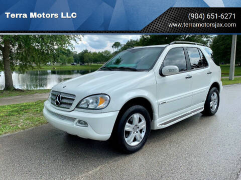 2005 Mercedes-Benz M-Class for sale at Terra Motors LLC in Jacksonville FL