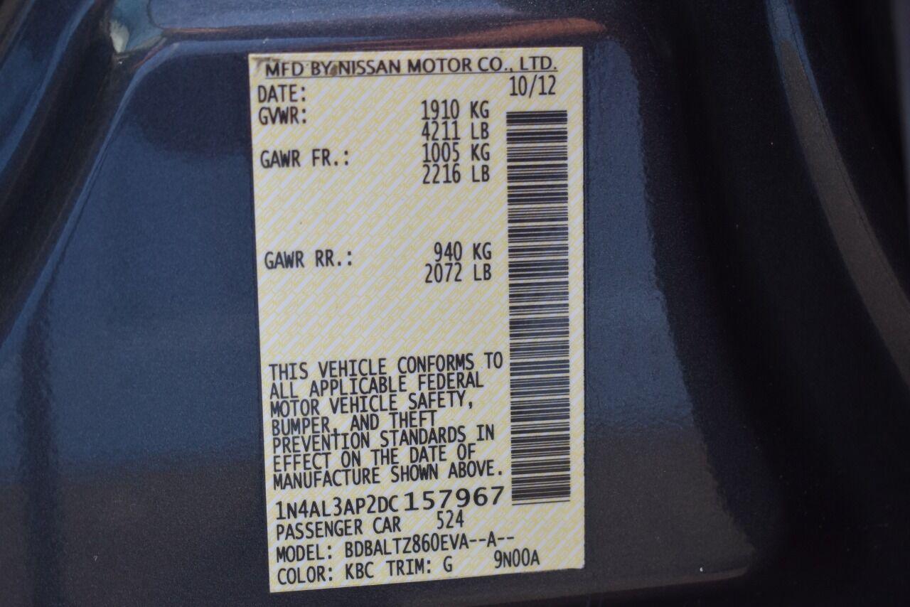 2013 Nissan Altima 2.5 SV 4dr Sedan full