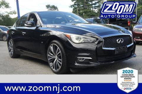 2014 Infiniti Q50 for sale at Zoom Auto Group in Parsippany NJ