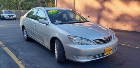 2005 Toyota Camry for sale at Exxcel Auto Sales in Ashland MA