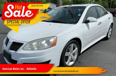 2010 Pontiac G6 for sale at American Motors Inc. - Belleville in Belleville IL