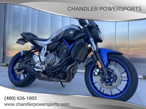 2016 Yamaha FZ-07 for sale at Chandler Powersports in Chandler AZ