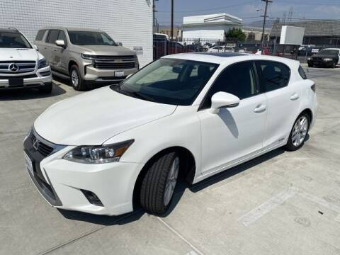 2014 Lexus CT 200h for sale at Hunter's Auto Inc in North Hollywood CA