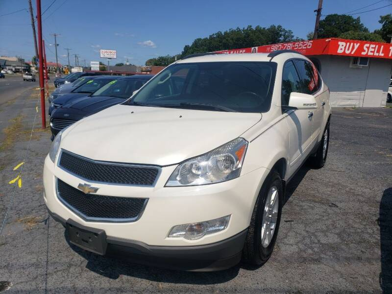 2012 Chevrolet Traverse for sale at Lara's Auto Sales LLC in Concord NC