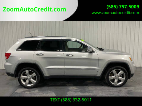 2011 Jeep Grand Cherokee for sale at ZoomAutoCredit.com in Elba NY