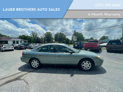 2007 Ford Taurus for sale at LAUER BROTHERS AUTO SALES in Dover PA