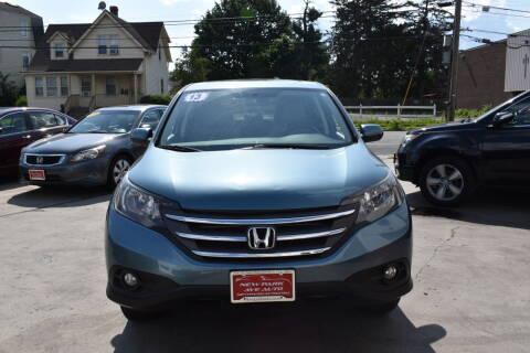 2013 Honda CR-V for sale at New Park Avenue Auto Inc in Hartford CT