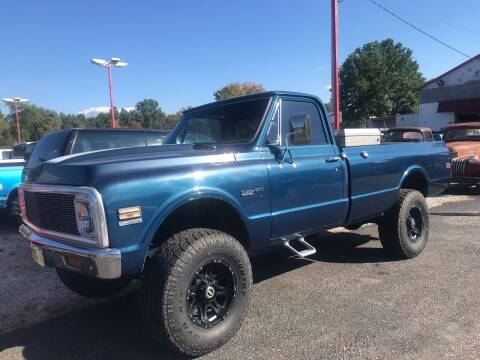 1972 Chevrolet C/K 20 Series for sale at FIREBALL MOTORS LLC in Lowellville OH