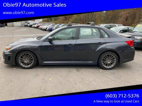 2011 Subaru Impreza for sale at Obie97 Automotive Sales in Londonderry NH