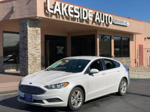 2018 Ford Fusion for sale at Lakeside Auto Brokers Inc. in Colorado Springs CO