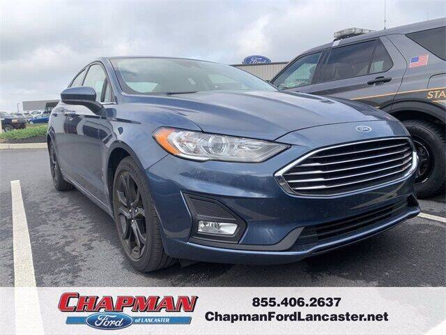 2019 Ford Fusion for sale at CHAPMAN FORD LANCASTER in East Petersburg PA