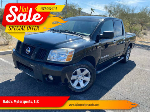 2006 Nissan Titan for sale at Baba's Motorsports, LLC in Phoenix AZ