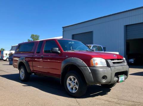 2001 Nissan Frontier for sale at DASH AUTO SALES LLC in Salem OR