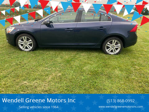 2012 Volvo S60 for sale at Wendell Greene Motors Inc in Hamilton OH