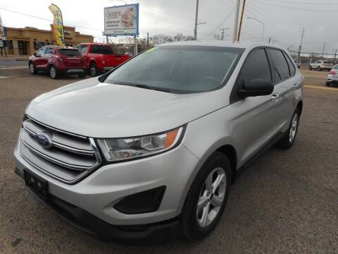 2018 Ford Edge for sale at AUGE'S SALES AND SERVICE in Belen NM