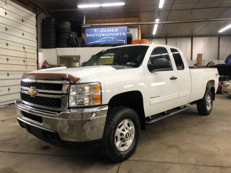 2011 Chevrolet Silverado 2500HD for sale at T James Motorsports in Gibsonia PA