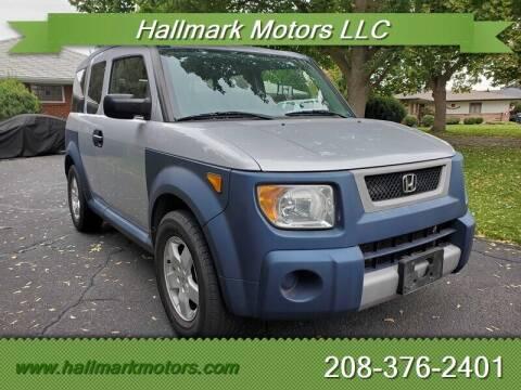 2005 Honda Element for sale at HALLMARK MOTORS LLC in Boise ID