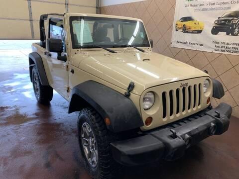 2011 Jeep Wrangler for sale at Armando's Auto in Fort Lupton CO