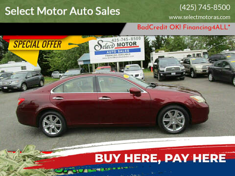 2008 Lexus ES 350 for sale at Select Motor Auto Sales in Lynnwood WA