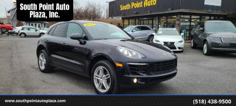 2017 Porsche Macan for sale at South Point Auto Plaza, Inc. in Albany NY