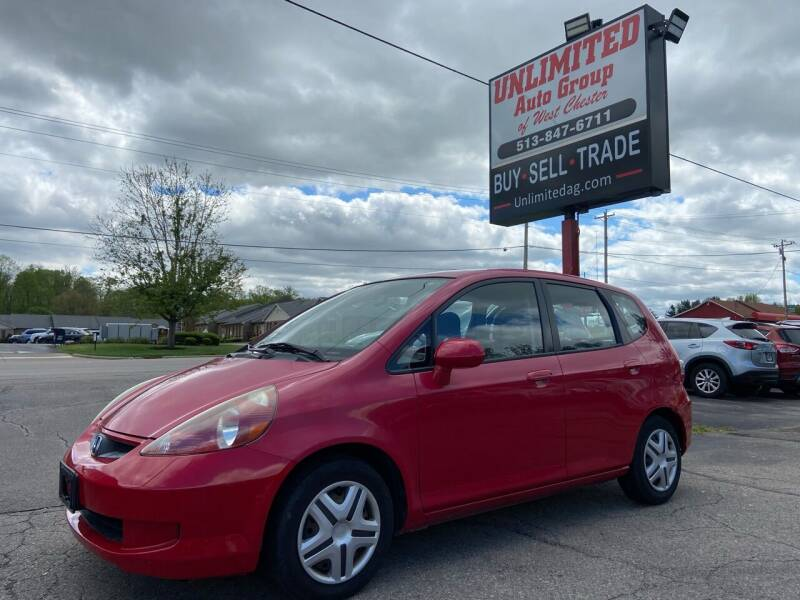 2008 Honda Fit for sale at Unlimited Auto Group in West Chester OH