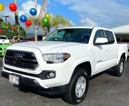 2019 Toyota Tacoma for sale at PONO'S USED CARS in Hilo HI
