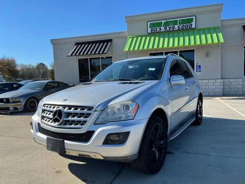2010 Mercedes-Benz M-Class for sale at Cross Motor Group in Rock Hill SC