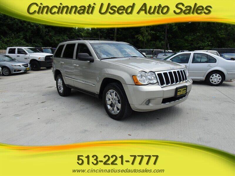 2008 Jeep Grand Cherokee for sale at Cincinnati Used Auto Sales in Cincinnati OH