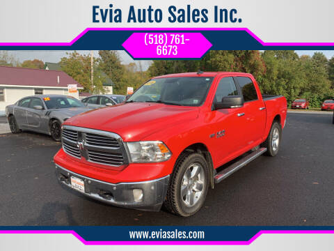 2016 RAM Ram Pickup 1500 for sale at Evia Auto Sales Inc. in Glens Falls NY