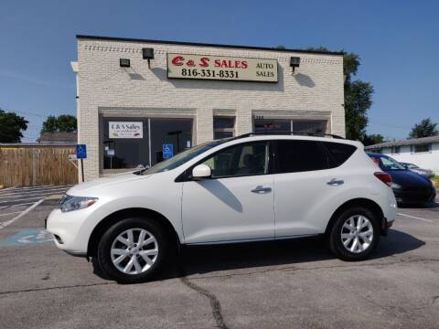2012 Nissan Murano for sale at C & S SALES in Belton MO