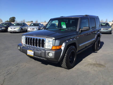 2008 Jeep Commander for sale at My Three Sons Auto Sales in Sacramento CA