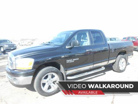 2006 Dodge Ram Pickup 1500 for sale at Salmon Automotive Inc. in Tracy MN
