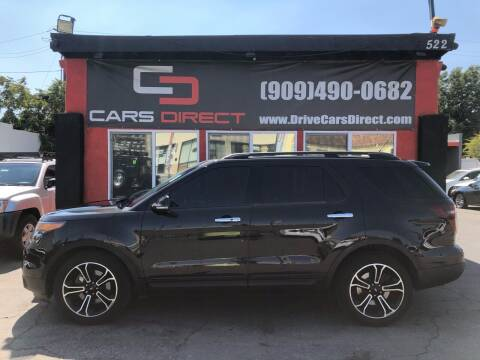 2013 Ford Explorer for sale at Cars Direct in Ontario CA