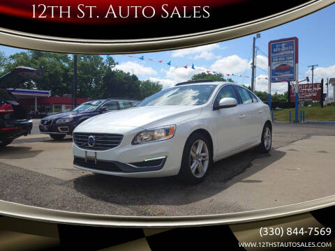 2014 Volvo S60 for sale at 12th St. Auto Sales in Canton OH