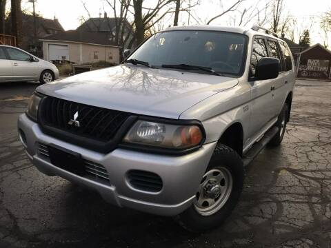 2003 Mitsubishi Montero Sport for sale at Your Car Source in Kenosha WI