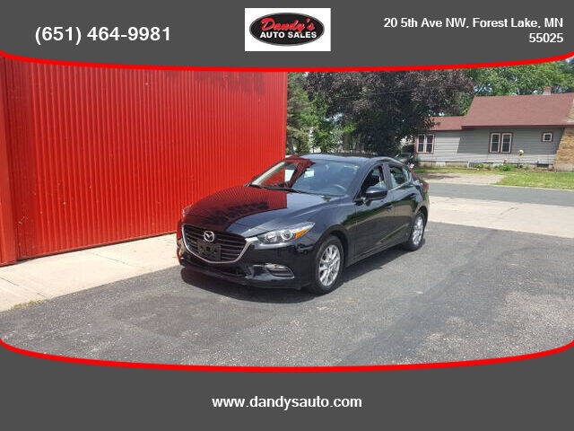 2018 Mazda MAZDA3 for sale at Dandy's Auto Sales in Forest Lake MN