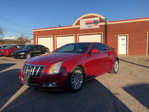 2013 Cadillac CTS for sale at Family Auto Finance OKC LLC in Oklahoma City OK