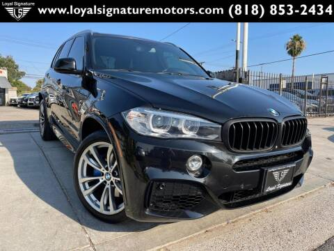 2016 BMW X5 for sale at Loyal Signature Motors Inc. in Van Nuys CA