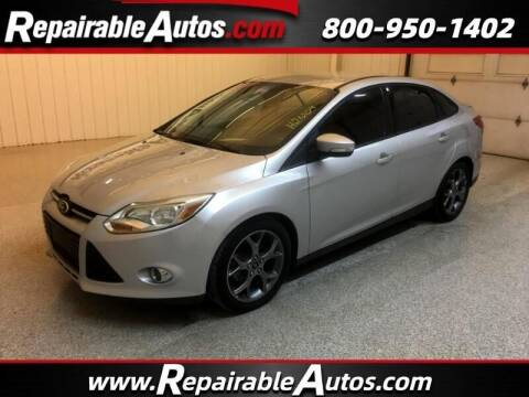 2013 Ford Focus for sale at Ken's Auto in Strasburg ND