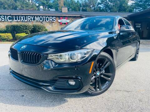 2018 BMW 4 Series for sale at Classic Luxury Motors in Buford GA